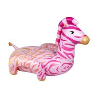 Sunnylife Zebra Luxe Ride-On Float - skønt pink zebra badedyr