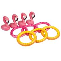 Flamingo spil til poolfesten - Flamingo Toss